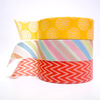 Washi tape set - Coralista