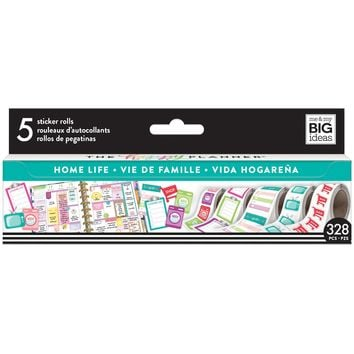 Create 365™ The Happy Planner® Sticker Rolls, Home Life