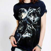 Urban Outfitters - The Mountain Wolf Pack Boyfriend Tee