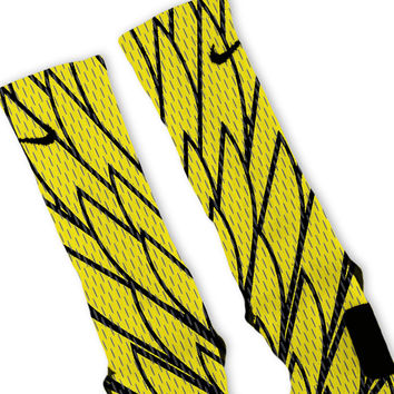 Oregon Jersey Custom Nike Elite Socks