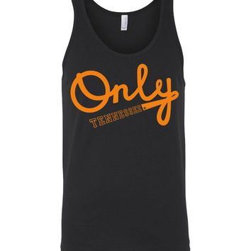 Official NCAA University of Tennessee Volunteers, Knoxville Vols UT UTK Women's Only TENNESSEE Unisex Tank - 73U-TN