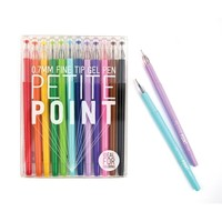 OOLY Petite Point Fine Tip Gel Pens