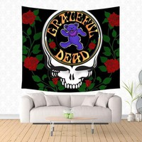 Grateful Dead Logo Wall Tapestry