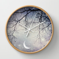 Diamonds in the Sky Wall Clock by SSC Photography