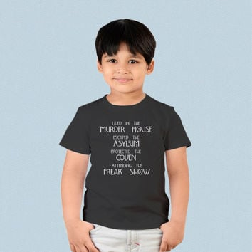 Kids T-shirt - Lived in The Murder House