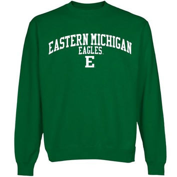Eastern Michigan Eagles Team Arch Sweatshirt - Green
