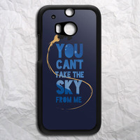 You Cant Take The Sky From Me HTC One M8 Case