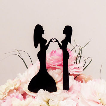 Stunning Ladies Love Cake Topper