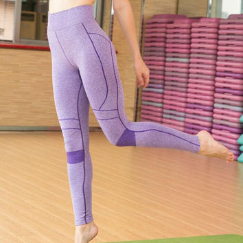 Yoga Gym Pants Winter Cropped Pants [4920310212]