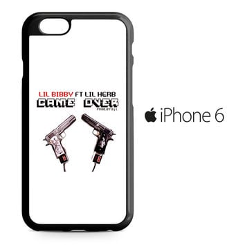 Lil Bibby ft Lil Herb Game Over iPhone 6 Case