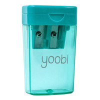 Two Hole Pencil Sharpener - Aqua