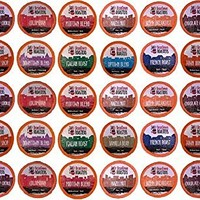 "50 Pack Beantown Roasters Coffee Variety Pack for Keurig K-cup, You Select the Size. All Coffee ""No Decaf"""