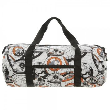Star Wars 7 BB8 Packable Travel Duffle Bag
