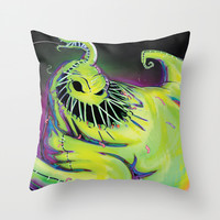 Oogie Boogie Throw Pillow by LordNetsua - Austen Mengler