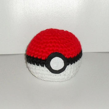 Crochet Pokeball Hacky Sack