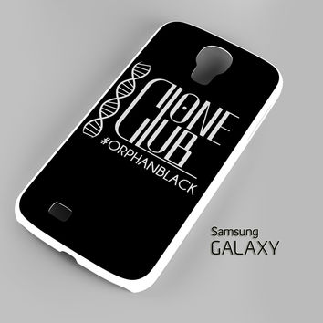 Clone Club Logo Orphan Black A0540 Samsung Galaxy S3 S4 S5 (Mini) S6 S6 Edge Note 2 3 4 HTC One S X M7 M8 M9