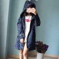 "Louis Vuitton""LV x Supreme ' Women zipper Sweater The cowboy Coat"