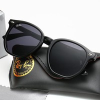 Ray-ban casual ladies beach sunglasses are a hot seller of gradient large frame sunglasses