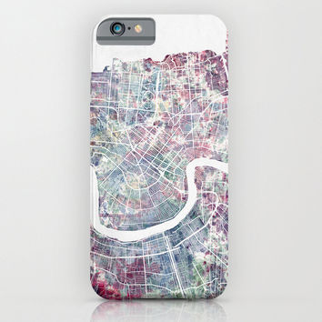 New Orleans map iphone case, smartphone