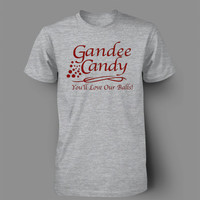 GANDEE CANDY FUNNY BUCK WILD T-SHIRT