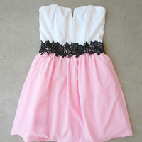 Pink Verda Party Dress [7069] - $44.00 : Feminine, Bohemian, & Vintage Inspired Clothing at Affordable Prices, deloom