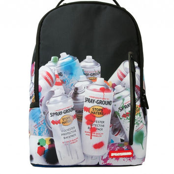 "Paint Cans Backpack ""SPRAYGROUND"""