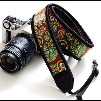 fashion SLR camera strap in Interchangeable Design by sizzlestrapz