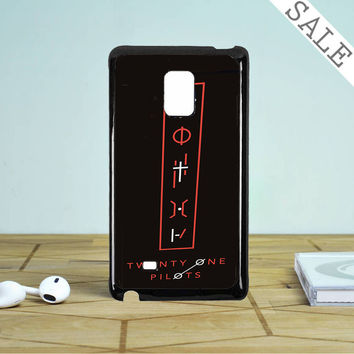 Twenty One Pilots Tattoo Symbol Samsung Galaxy Note 5 Edge Case