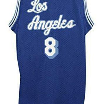 Adidas Men's Los Angeles Lakers Nba Kobe Bryant Throwback Swingman Jersey