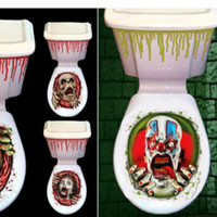HALLOWEEN Toilet Seat Decoration