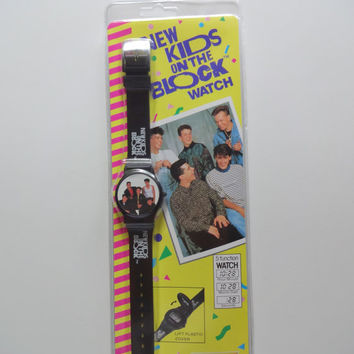 Vintage New Kids on The Block Wrist Watch 1990