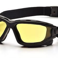 Pyramex I-Force SB7030SDT Amber Lens Safety Glasses Anti-Fog Ballistic Eyewear