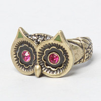The Creepy Critter Boost Owl Eyes Stretch Ring