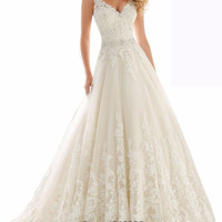 Luxurious crystals A-Line wedding dress Expensive bridal vestido de noiva robe de mariage vestido de noiva curto with Sashes