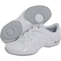 Nike Women's Cheer Flash Fitness Shoe Gray/White (9.5)