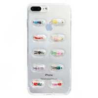Human Pill Capsule iPhone Case