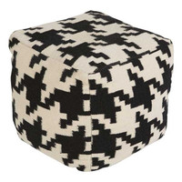 Holly Pouf IVORY/BLACK