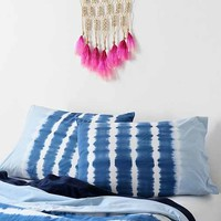 Noodle Indigo Stripe Sham - Set Of 2- Slate One