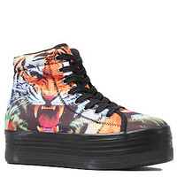 Jeffrey Campbell The HIYA Sneaker in Tiger Print : Karmaloop.com - Global Concrete Culture