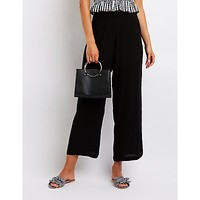 Smocked Palazzo Pants | Charlotte Russe