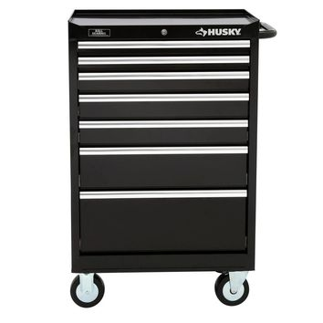Husky 27 in. W 7-Drawer Tool Cabinet-H7TR3 - The Home Depot