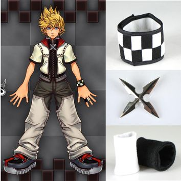 Athemis Cool Kingdom Hearts Roxas Cosplay Costumes accessories bracelet finger sets