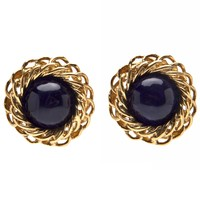 Chanel Vintage Gripoix Braided Earring