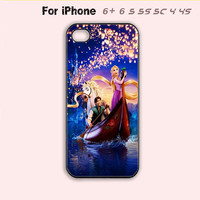 Tangled Phone Case For iPhone 6 Plus For iPhone 6 For iPhone 5/5S For iPhone 4/4S For iPhone 5C-5 Colors Available
