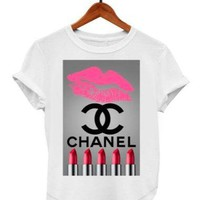 CHANEL FASHION WOMEN COTTON TOPS