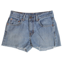 Rokit Recycled Levi Blue Denim Shorts W29 | Rokit Recycled | Rokit Vintage Clothing