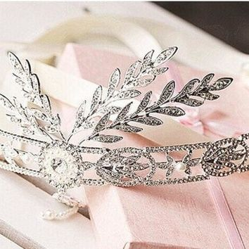 LMFUG3 2014 The new! The great gatsby high-grade Korean wedding bride tiara crown wedding wedding dress accessories hair accessories = 1930183428
