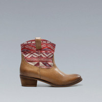 Ethnic Ankle Boot