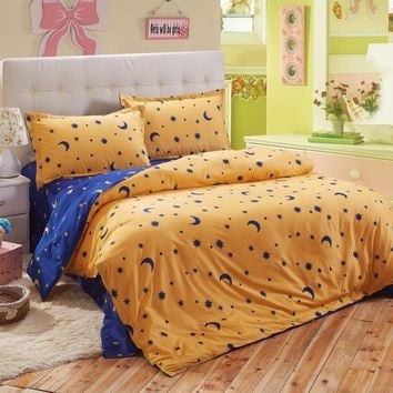 Classic active staining bedding set /comforter set/ duvet cover set/ bed sheet