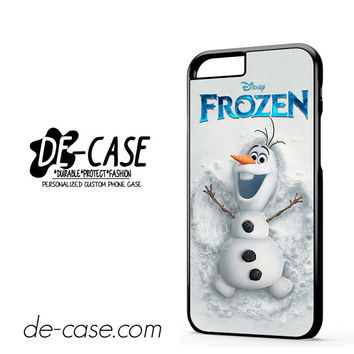 Disney Frozen Olaf Poster For Iphone 6 Iphone 6S Iphone 6 Plus Iphone 6S Plus Case Phone Case Gift Present